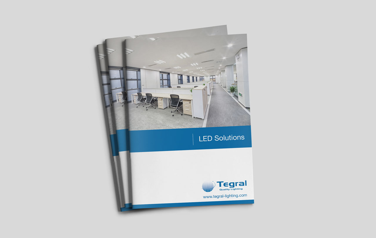 Tegral LED Solutions  brochure cover