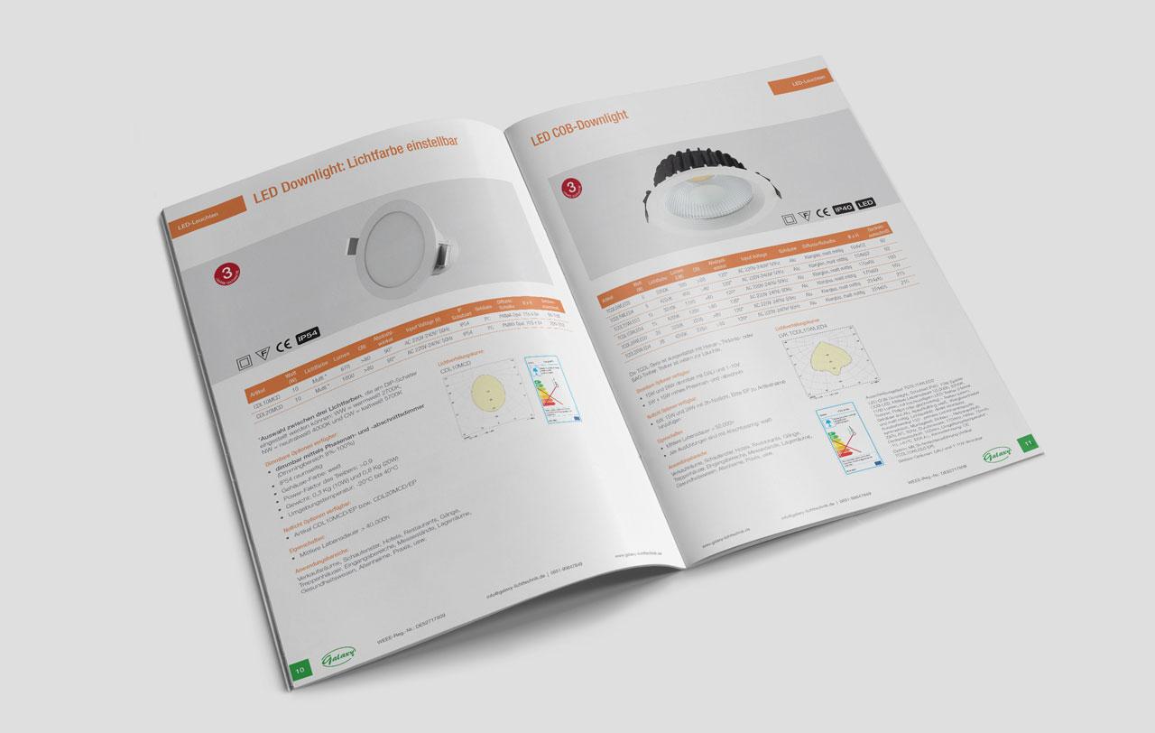 Galaxy Product Catalogue